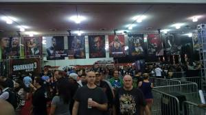 WWE Axxess. Indoor shot.