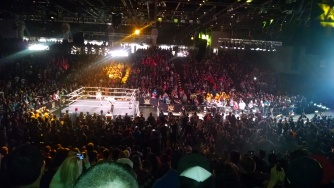 Sold Out NXT Event.