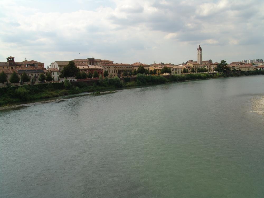 Fiume Adige.