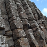 Basalt Formations at The Giant's Causeway